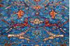 Chobi Blue Hand Knotted 59 X 710  Area Rug 700-145374 Thumb 3