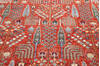 Chobi Red Hand Knotted 80 X 101  Area Rug 700-145376 Thumb 3