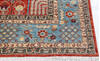 Chobi Red Hand Knotted 80 X 101  Area Rug 700-145376 Thumb 4