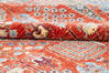 Chobi Red Hand Knotted 80 X 101  Area Rug 700-145376 Thumb 6