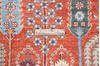 Chobi Red Hand Knotted 80 X 101  Area Rug 700-145376 Thumb 7