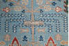 Chobi Blue Runner Hand Knotted 25 X 97  Area Rug 700-145388 Thumb 6