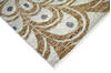 Modern-Contemporary Multicolor Hand Knotted 81 X 101  Area Rug 904-145440 Thumb 2