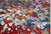 Modern-Contemporary Multicolor Hand Knotted 90 X 119  Area Rug 904-145446 Thumb 5