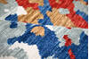 Modern-Contemporary Multicolor Hand Knotted 90 X 119  Area Rug 904-145446 Thumb 8