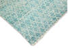 Modern-Contemporary Blue Hand Knotted 79 X 99  Area Rug 904-145452 Thumb 2