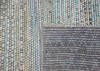 Modern-Contemporary Multicolor Hand Knotted 90 X 1110  Area Rug 904-145453 Thumb 3