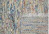 Modern-Contemporary Multicolor Hand Knotted 80 X 95  Area Rug 904-145475 Thumb 3