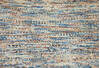 Modern-Contemporary Multicolor Hand Knotted 80 X 95  Area Rug 904-145475 Thumb 4