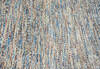 Modern-Contemporary Multicolor Hand Knotted 80 X 95  Area Rug 904-145475 Thumb 5