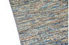 Modern-Contemporary Multicolor Hand Knotted 80 X 95  Area Rug 904-145475 Thumb 6