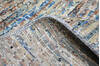 Modern-Contemporary Multicolor Hand Knotted 80 X 95  Area Rug 904-145475 Thumb 7