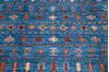 Chobi Blue Hand Knotted 411 X 65  Area Rug 700-145580 Thumb 3