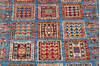 Chobi Blue Runner Hand Knotted 26 X 84  Area Rug 700-145581 Thumb 3