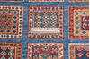 Chobi Blue Runner Hand Knotted 26 X 84  Area Rug 700-145581 Thumb 6