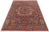 Chobi Red Hand Knotted 56 X 80  Area Rug 700-145587 Thumb 1