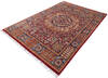 Chobi Red Hand Knotted 56 X 80  Area Rug 700-145587 Thumb 2