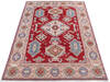 Kazak Red Hand Knotted 411 X 69  Area Rug 700-145597 Thumb 1