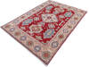 Kazak Red Hand Knotted 411 X 69  Area Rug 700-145597 Thumb 2