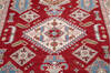 Kazak Red Hand Knotted 411 X 69  Area Rug 700-145597 Thumb 3