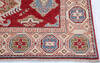 Kazak Red Hand Knotted 411 X 69  Area Rug 700-145597 Thumb 4