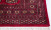 Bokhara Red Hand Knotted 53 X 76  Area Rug 700-145665 Thumb 4