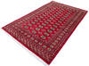 Bokhara Red Hand Knotted 52 X 80  Area Rug 700-145675 Thumb 2