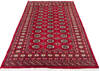Bokhara Red Hand Knotted 51 X 75  Area Rug 700-145676 Thumb 1