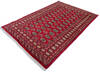Bokhara Red Hand Knotted 51 X 75  Area Rug 700-145676 Thumb 2