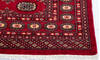 Bokhara Red Hand Knotted 51 X 75  Area Rug 700-145676 Thumb 4