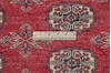 Bokhara Red Hand Knotted 51 X 75  Area Rug 700-145676 Thumb 6
