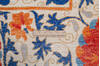 Chobi Beige Hand Knotted 82 X 106  Area Rug 700-145745 Thumb 5