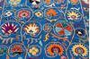Chobi Blue Hand Knotted 51 X 66  Area Rug 700-145806 Thumb 3