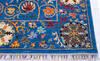 Chobi Blue Hand Knotted 51 X 66  Area Rug 700-145806 Thumb 4