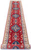 Kazak Red Runner Hand Knotted 211 X 164  Area Rug 700-145866 Thumb 1