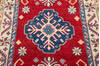 Kazak Red Runner Hand Knotted 211 X 164  Area Rug 700-145866 Thumb 3
