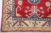 Kazak Red Runner Hand Knotted 211 X 164  Area Rug 700-145866 Thumb 4