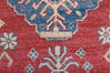 Kazak Red Runner Hand Knotted 211 X 164  Area Rug 700-145866 Thumb 6