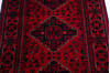 Khan Mohammadi Red Runner Hand Knotted 29 X 77  Area Rug 700-145871 Thumb 3