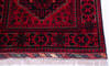 Khan Mohammadi Red Runner Hand Knotted 29 X 77  Area Rug 700-145871 Thumb 4