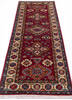 Kazak Red Runner Hand Knotted 27 X 67  Area Rug 700-145880 Thumb 1