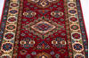 Kazak Red Runner Hand Knotted 27 X 67  Area Rug 700-145880 Thumb 3