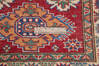 Kazak Red Runner Hand Knotted 27 X 67  Area Rug 700-145880 Thumb 6