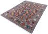 Chobi Grey Hand Knotted 80 X 101  Area Rug 700-145894 Thumb 2