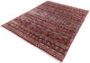 Chobi Red Hand Knotted 80 X 911  Area Rug 700-145973 Thumb 2