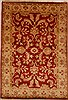 Chobi Red Hand Knotted 55 X 710  Area Rug 100-15435 Thumb 0
