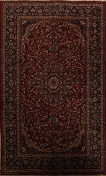 "Najaf-abad Red Hand Knotted 9'8"" X 16'0""  Area Rug 251-15704"