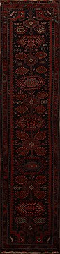Persian Kurdi Blue Runner 16 to 20 ft Wool Carpet 15731