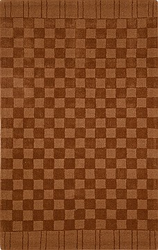"Modern Brown Hand Tufted 5'0"" X 8'0""  Area Rug 100-15865"
