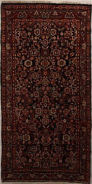Persian Mussel Blue Runner 10 to 12 ft Wool Carpet 15980